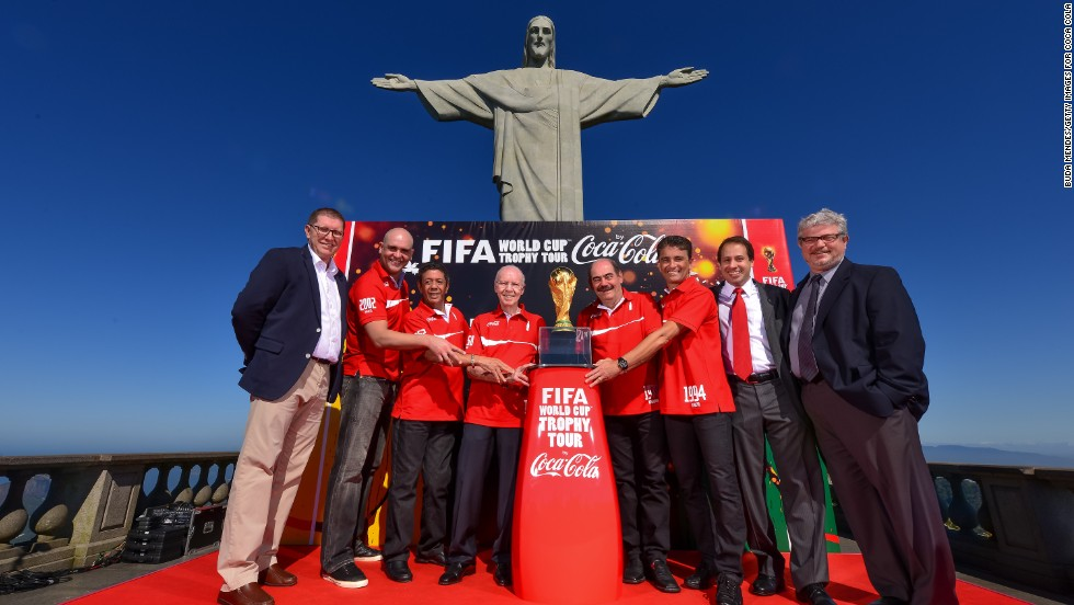 Coca-Cola is dominant in the world beverage market and has huge sponsorship deals -- like its decades-long partnership with FIFA.