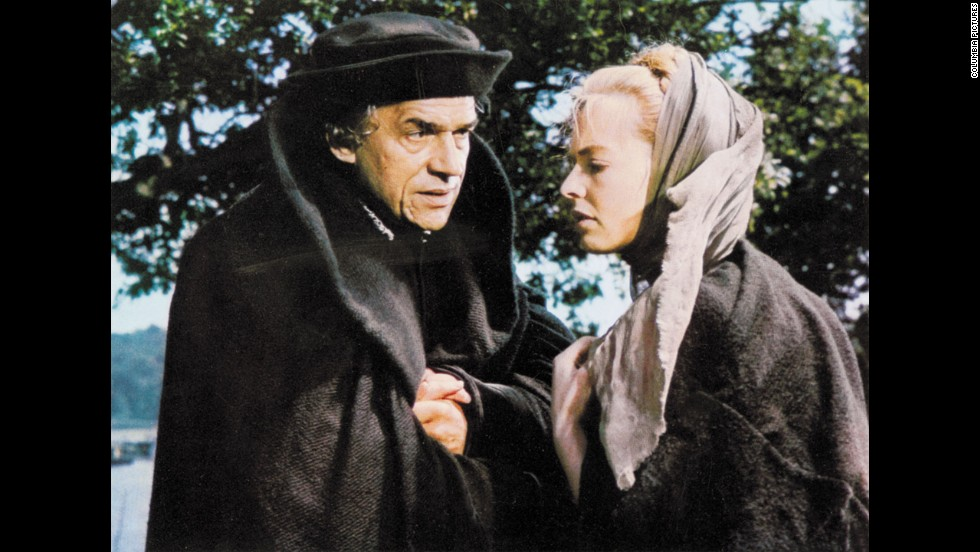 "Paul Scofield also was up against some heavyweight actors, particularly Richard Burton in ""Who's Afraid of Virginia Woolf?"" But Scofield, here with Susannah York, won for his work as Thomas More in the period drama ""A Man for All Seasons."""