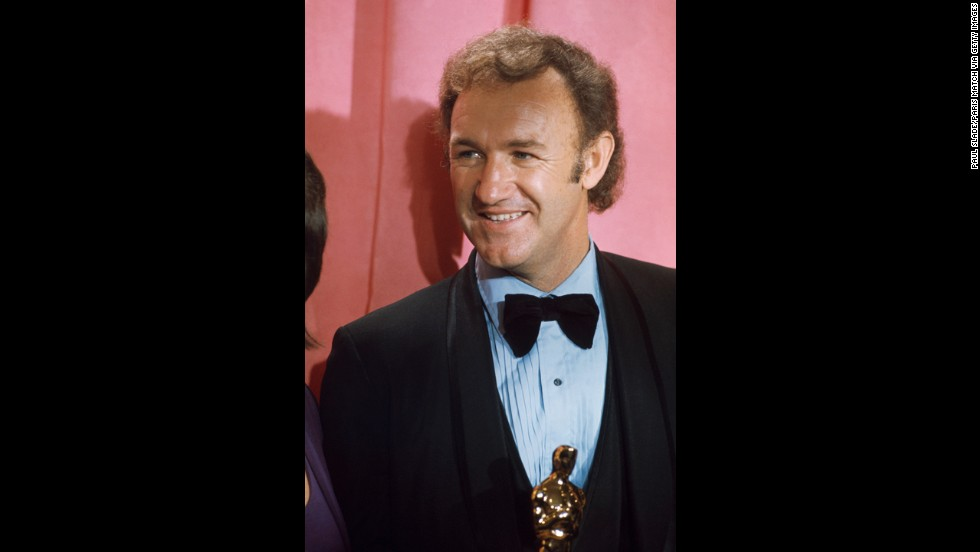 "Everyone wanted in on ""The French Connection,"" and star Gene Hackman was rewarded handsomely with the best actor award at the 1972 ceremony."