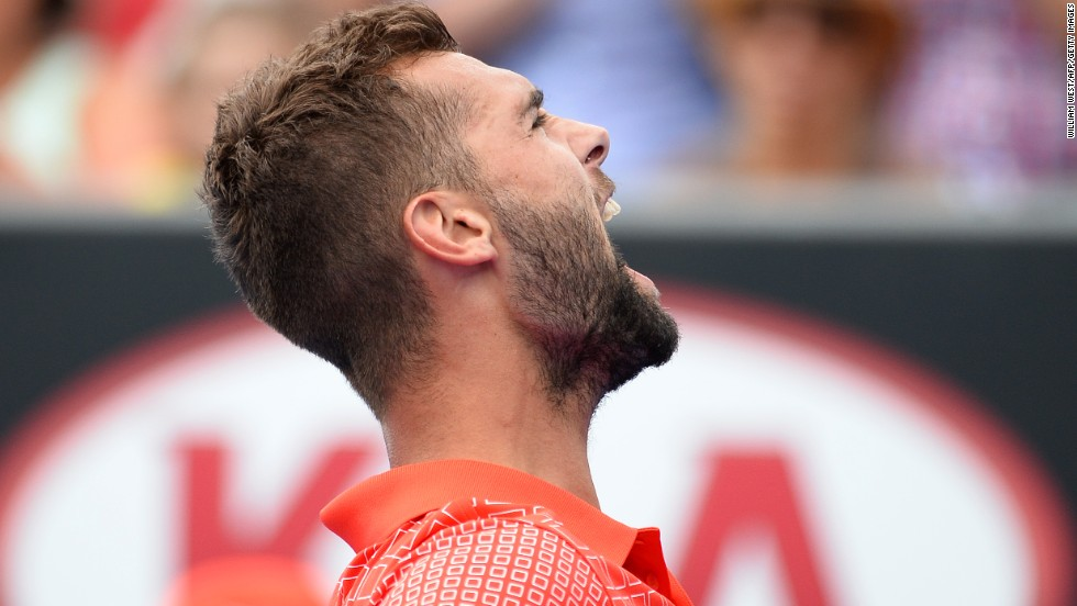 And even now, France has 12 players inside the men's top 100. One of them is the exciting Benoit Paire, who had a breakthrough 2013. But ...