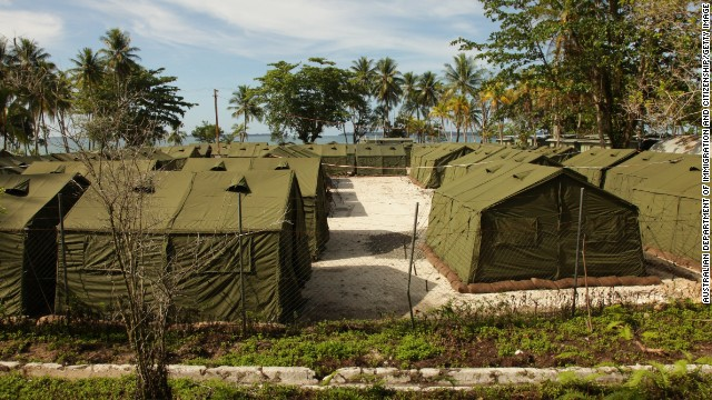 A 2014 photo from Australian Department of Immigration and Citizenship of the Manus Island Regional Processing Facility.