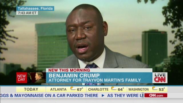 benjamin crump trayvon martin michael dunn cuomo new day_00015311.jpg
