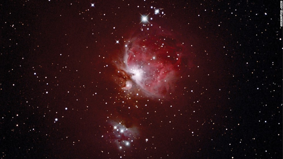 The Orion constellation and Orion Nebula can be seen in the Northern Hemisphere during spring. Paul Jeanes captured this image of the Orion Nebula (also known as M42) from his observatory in Washford, UK, but it can also be seen from Hungary's Zselic Starry Sky Park.
