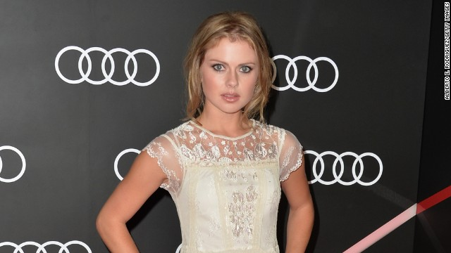 Rose McIver arrives to Audi Celebrates Golden Globes Weekend at Cecconi's Restaurant on January 9, 2014 in Los Angeles, California.