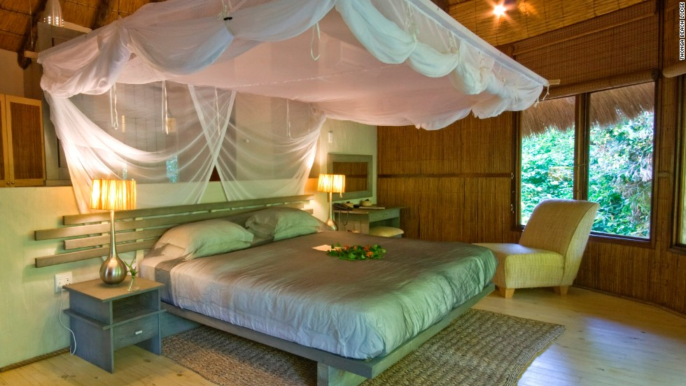 Located within South Africa's iSimangaliso Wetland Park, the environmentally friendly Thonga Beach Lodge is focused on luxury. Take your pick of spa treatments, fine dining or action-packed outdoor activities.