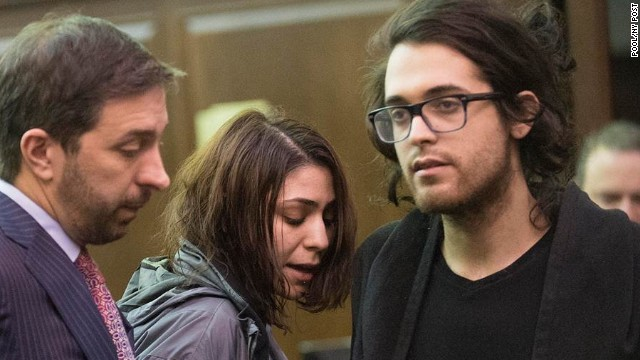 Four people believed to be connected to the drugs found in Philip Seymour Hoffman's apartment were arrested late Tuesday night - but only three were charged Wednesday, February 5, 2014. Juliana Luchkiw, 22 & Max Rosenblum, 22, were charged with criminal possession of a controlled substance in the seventh degree, misdemeanors.