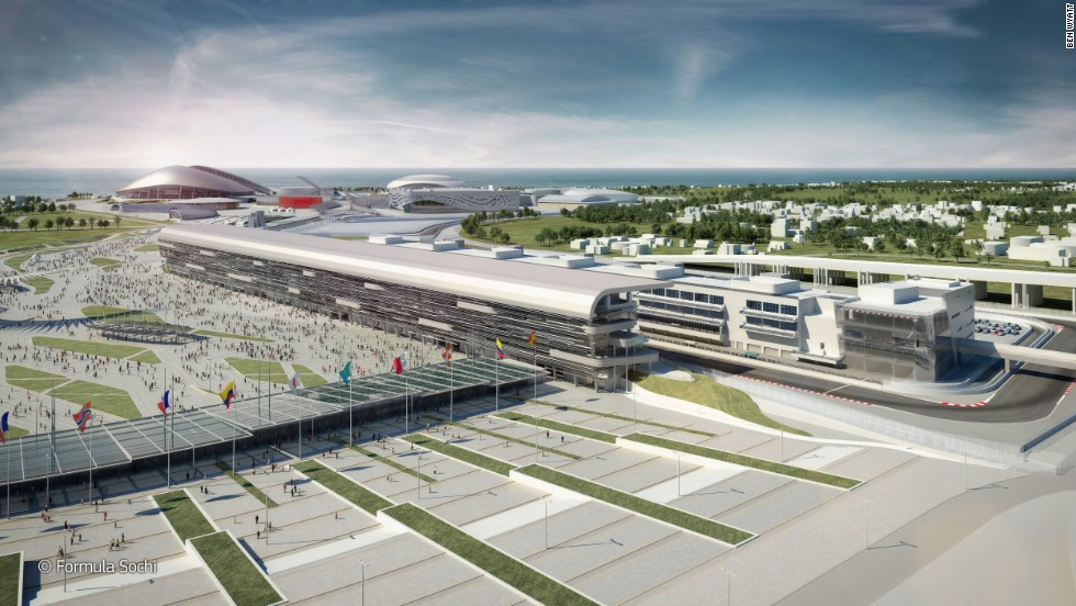 The Sochi International Street Circuit is set to play host to the Russian Grand Prix in October 2014. Russia signed a seven-year deal with Ecclestone in 2010, with the project to build the circuit costing $200 million -- a fraction of the reported  $50 billion spent on the Winter Games.