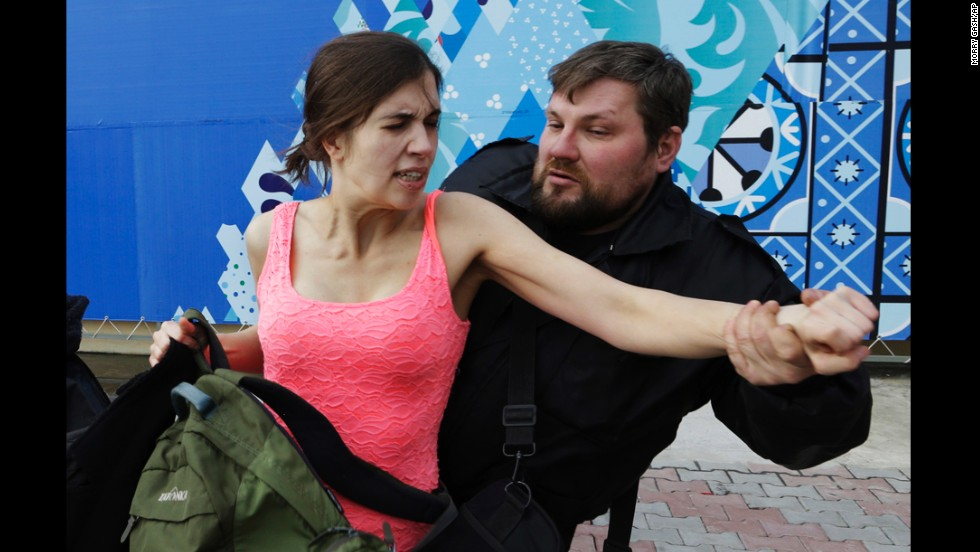 beaten but not tamed, punk band pussy riot strikes back in sochi - cnn, Human Body