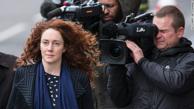 Chasing stories on soccer star David Beckham for rival papers put a strain on the relationship between former newspaper chief Rebekah Brooks (above) and ex-Downing Street spin doctor Andy Coulson.