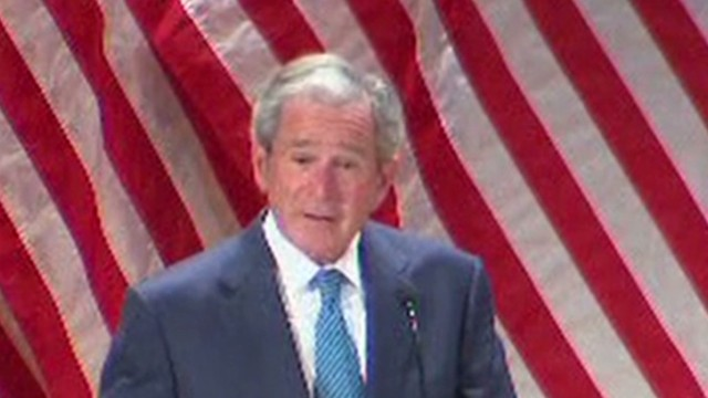 bts bush veterans support speech _00003129.jpg