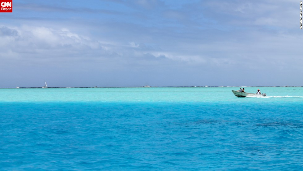 Reef-diving in a turquoise lagoon is among the top draws on Bora Bora, no. 3 among the world's top 10 islands.