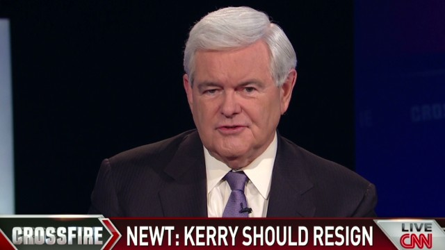 Gingrich: Secretary Kerry is delusional