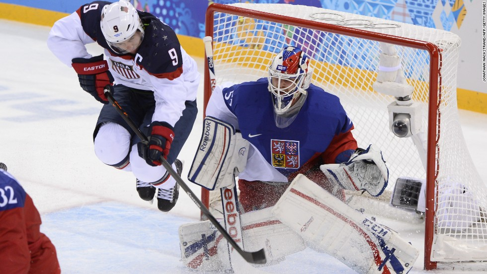 The Canadians will next face the United States in a rematch of the 2010 final. The Americans progressed by beating the Czech Republic 5-2 at the Shayba Arena.