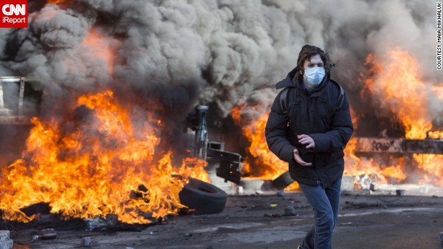 iReporters share their stories from Kiev