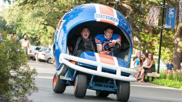 """Jonah Hill and Channing Tatum star in """"22 Jump Street."""""""
