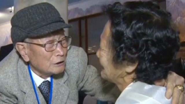 Families reunited after decades apart