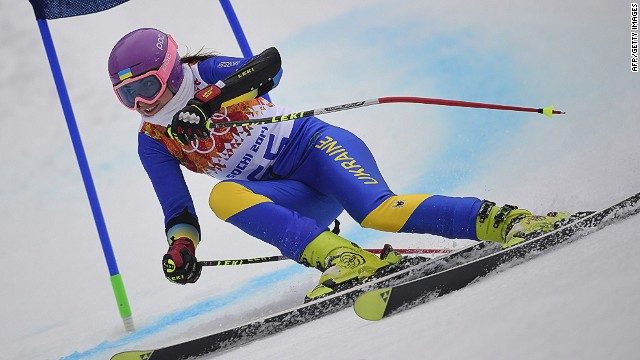 Ukrainian athlete withdraws from Olympics