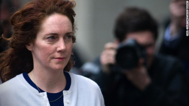 "Rebekah Brooks, former News International chief executive justifies the payment of an official, saying the story was of ""overwhelming public interest."""