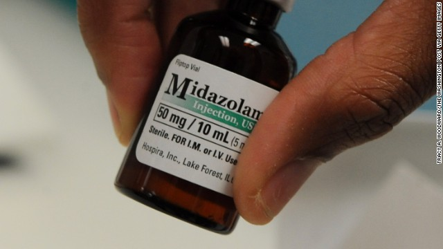 The Illinois-based pharmaceutical company Hospira, which manufactures midazolam, says it opposes the use of its products in lethal injections and no longer sells it to prison hospitals.