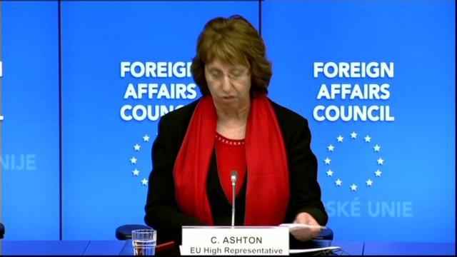 EU freezes key Ukranians' assets