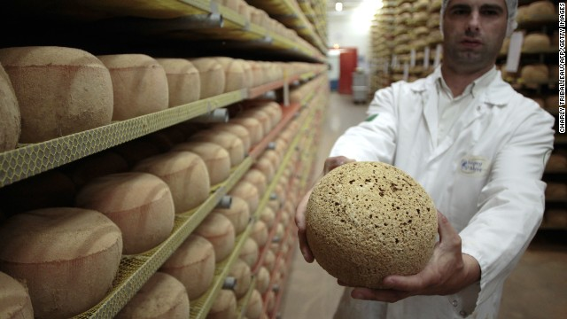 Mimolette: controlled substance.