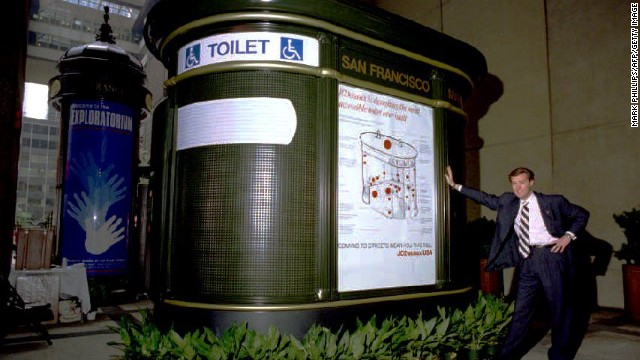 Public toilets: often French.