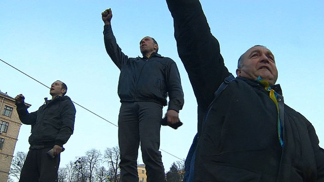 Ukrainian protesters not happy with deal