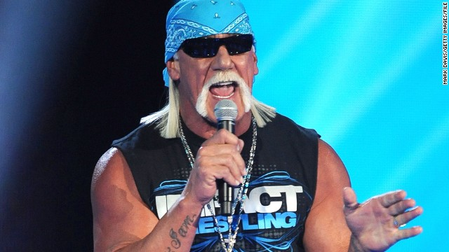 Hulk Hogan speaks at at Spike TV's 2011 Video Game Awards in Los Angeles.
