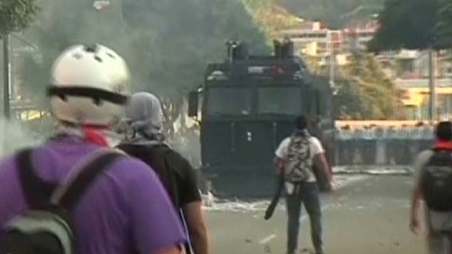 Venezuelan Pres. tells CNN 'get out'