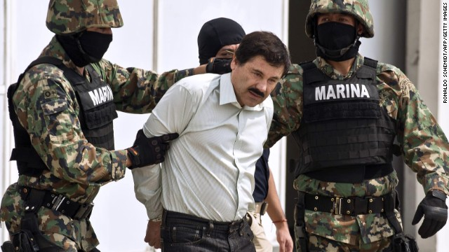 "Joaquin ""El Chapo"" Guzman was rated by Forbes as the most powerful criminal on the planet."