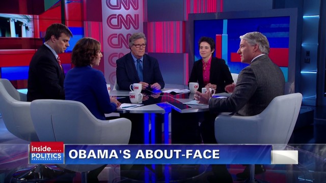 Obama's about-face