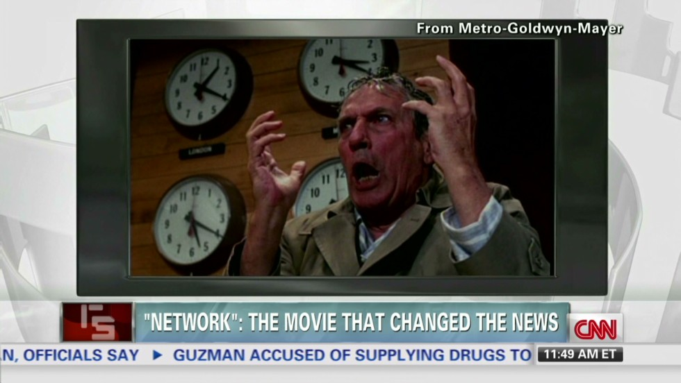 """How """"Network"""" changes the news"""