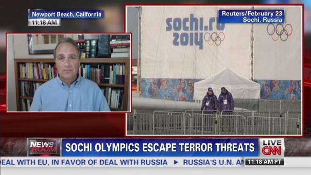Sochi Olympics escape terror threats