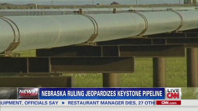 Ruling jeopardizes Keystone pipeline