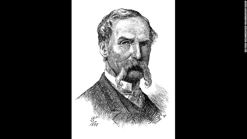 "John Tenniel, best known for his illustrations of ""Alice in Wonderland"" and ""Through the Looking Glass,"" died 100 years ago on February 25, 1914. This image is a self-portrait Tenniel drew in 1889."