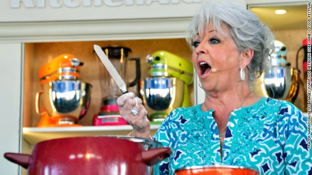 Paula Deen says she used her months out of the spotlight to spend more time with her family.