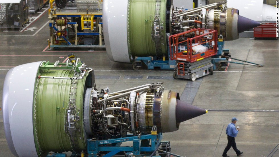 This 19,000-pound monster is so wide, Boeing says it's theoretically possible to fit the body of a Boeing 737 airliner through it.