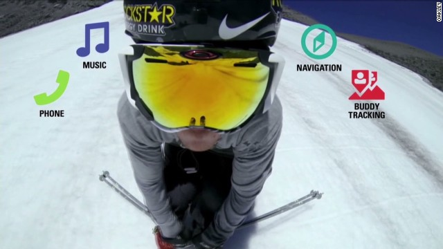 Oakley's 'smart goggles' hit the slopes
