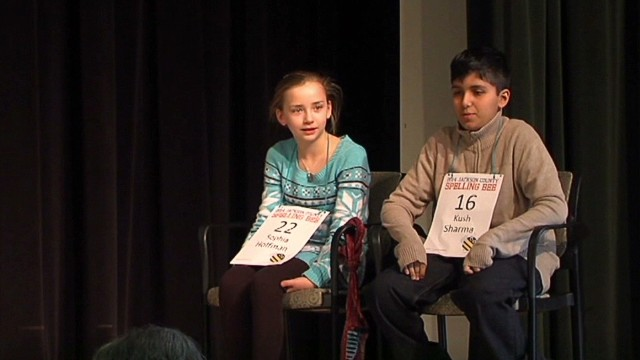 Spelling bee runs out of ... words?