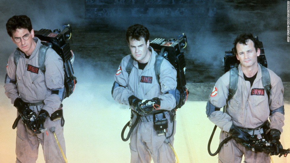 "Actor, writer and director <a href=""http://www.cnn.com/2014/02/24/showbiz/movies/obit-harold-ramis/index.html"">Harold Ramis</a>, seen here on the far left with fellow ""Ghostbusters"" Dan Aykroyd and Bill Murray, died at his Chicago-area home on February 24. He was 69. Other popular Ramis films include ""Stripes,"" ""Groundhog Day"" and ""Analyze This."""