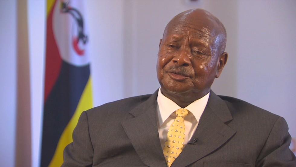 Image result for Uganda President