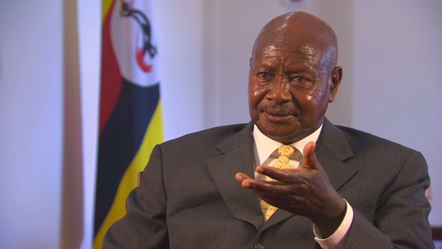 Ugandan president: Gays 'disgusting'
