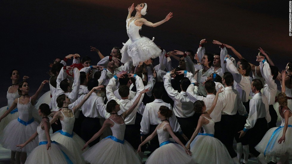 "FEBRUARY 24 - SOCHI, RUSSIA: Artists perform during the closing ceremony of the 2014 Winter Olympics on February 23. <a href=""http://cnn.com/2014/02/24/sport/sochi-2014-protest-accomodation-weather/index.html?hpt=hp_c3"">""Russia delivered all what it had promised,""</a> said International Olympic Committee (IOC) President Thomas Bach in his speech at the ceremony."