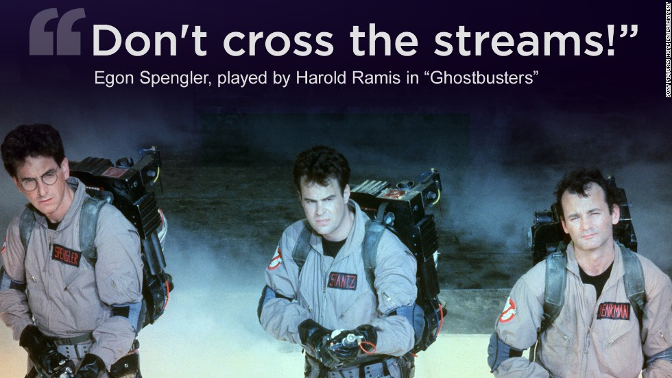 "Harold Ramis was a familiar presence in comedies for more than three decades. From left, he, Dan Aykroyd and Bill Murray star in the 1984 film ""Ghostbusters."" Ramis played Dr. Egon Spengler and co-wrote the film with Aykroyd."
