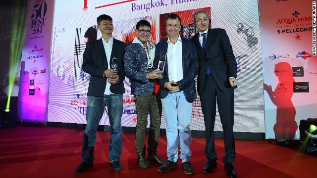 nahm took the top spot at the 2014 S. Pellegrino & Acqua Panna Asia's 50 Best Restaurants Awards.