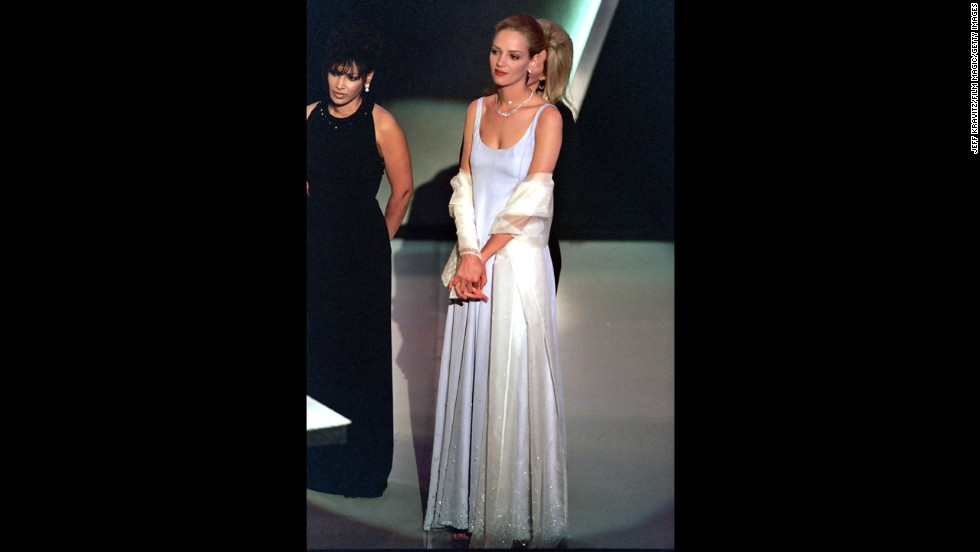 "If there's a lesson to be learned here, it's that less really can be more. In 1995, when Uma Thurman was nominated for best supporting actress for her role in ""Pulp Fiction,"" she wore a lilac Prada slip dress that was so pale it was ethereal. Thurman lost out on the Oscar that year, but she helped give Prada a major boost."