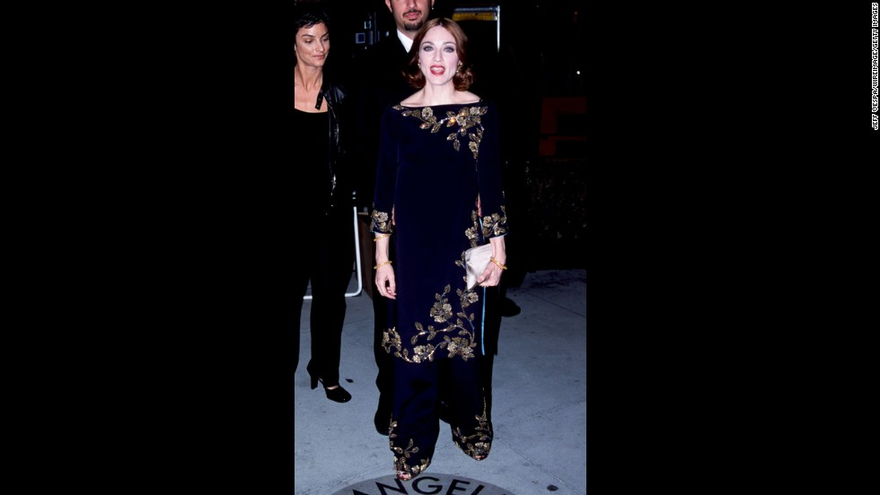 Madonna changes styles -- and accents -- so regularly that it feels like we're being introduced to a new person each time. In 1999, it was Zen Madonna who showed up to a Vanity Fair Oscars party.