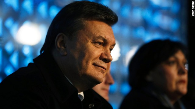 Ex-Ukraine leader under Russia protection