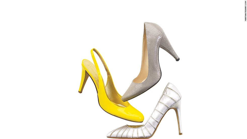 If you buy shoes you can wear again after the wedding, you'll have a nice little memento when you slip them on for parties and special events in the following months.