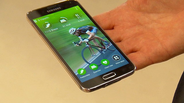Hands on with the Galaxy S5